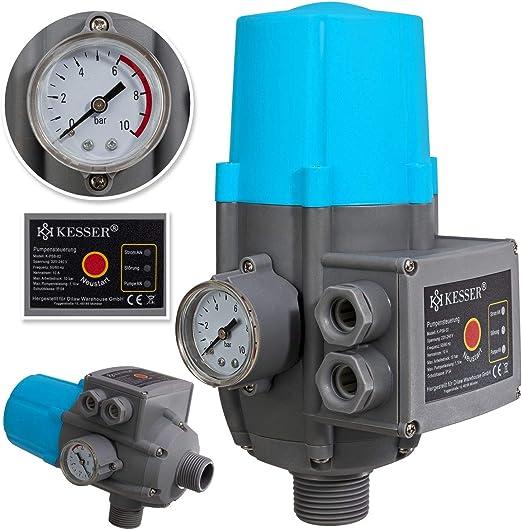 Pumpensteuerung ohne Kabel 12V Druckschalter Druckwächter für Hauswasserwerk