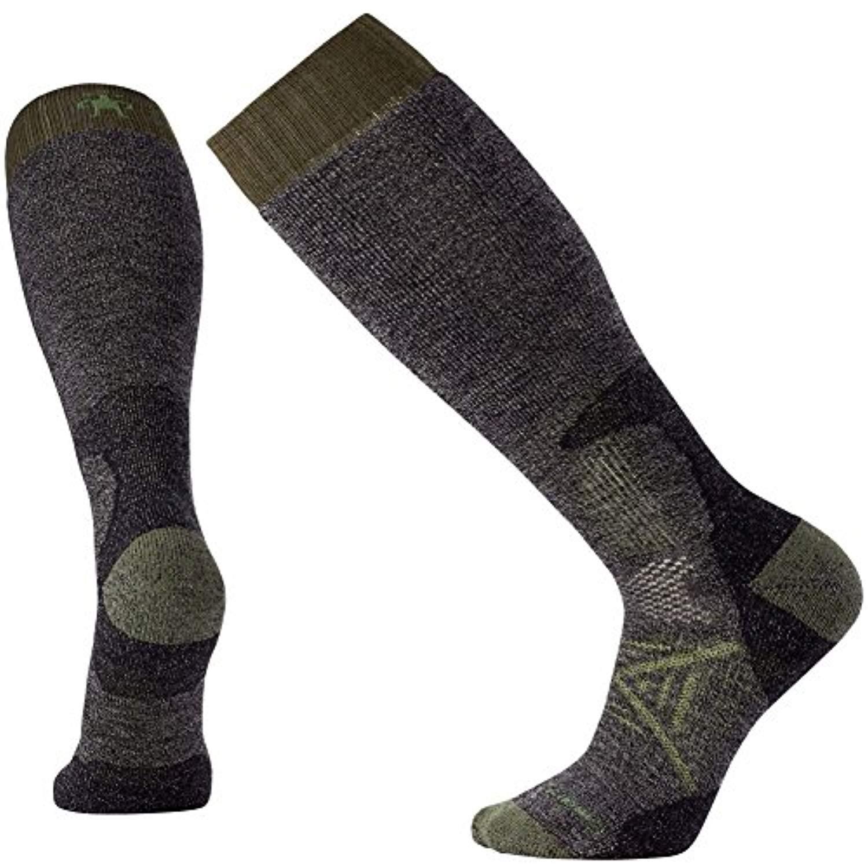 SmartWool PhD Hunt Heavy OTC Socks Black L 3-Pack