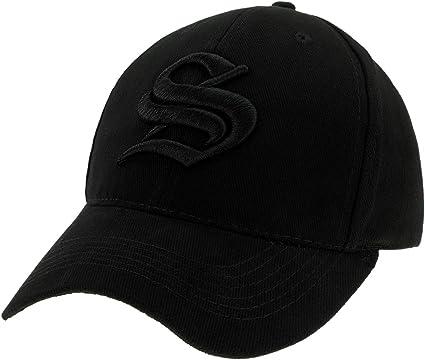 Gorra de béisbol ajustable unisex con letra S en estilo gótico S ...
