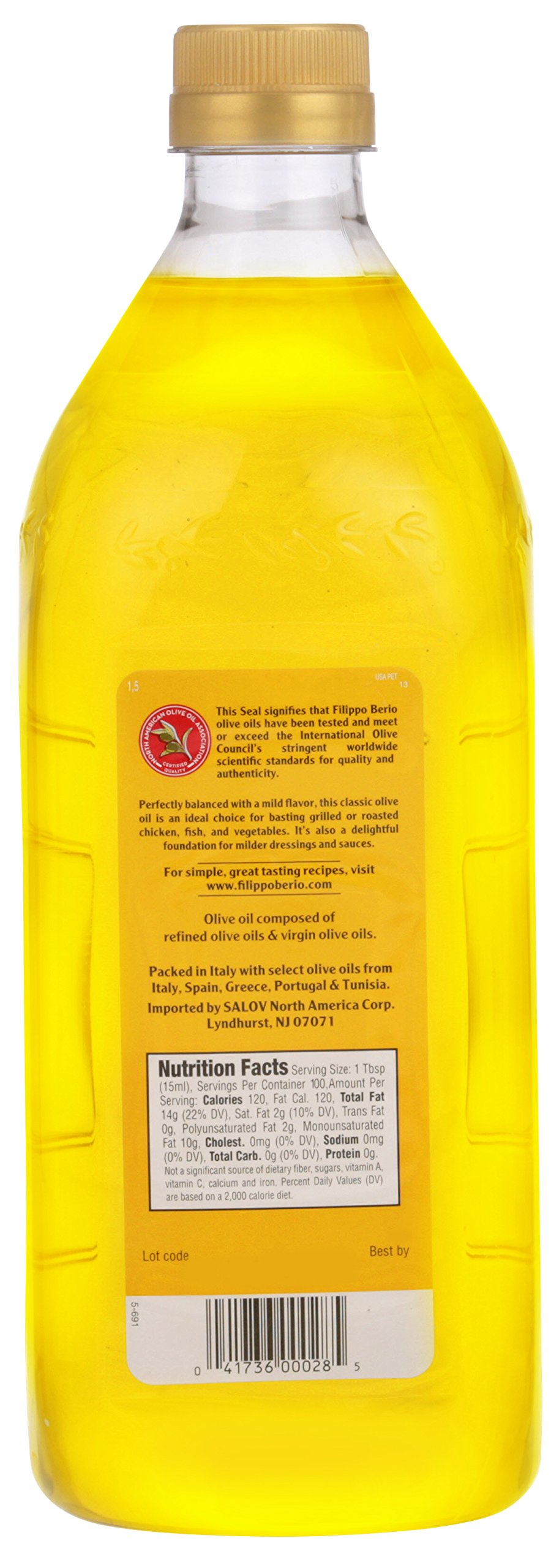 Filippo Berio Olive Oil, 50.7 Ounce by Filippo Berio (Image #2)