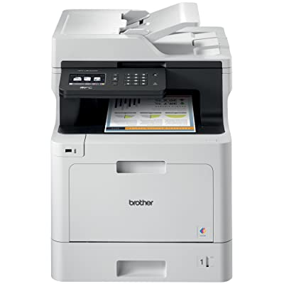 Brother Printer MFCL8610CDW Business Color Laser All-In-One