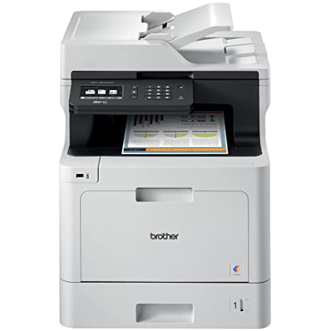 Brother Color Laser Printer, Multifunction Printer, All-in-One Printer,  MFC-L8610CDW, Wireless Networking, Automatic Duplex Printing, Mobile  Printing