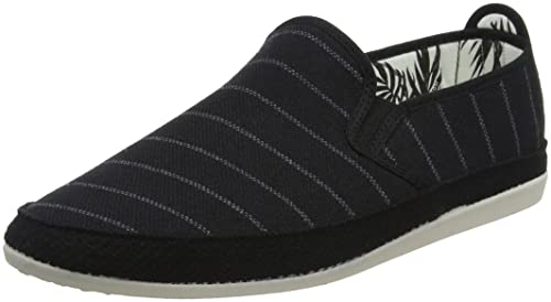 Efecto, Espadrilles Homme, Rose (Black 001), 46 EUFlossy
