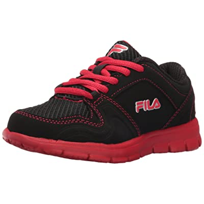 Fila Girls' Speed Runner Skate Shoe, Pink GloSafety Yellow