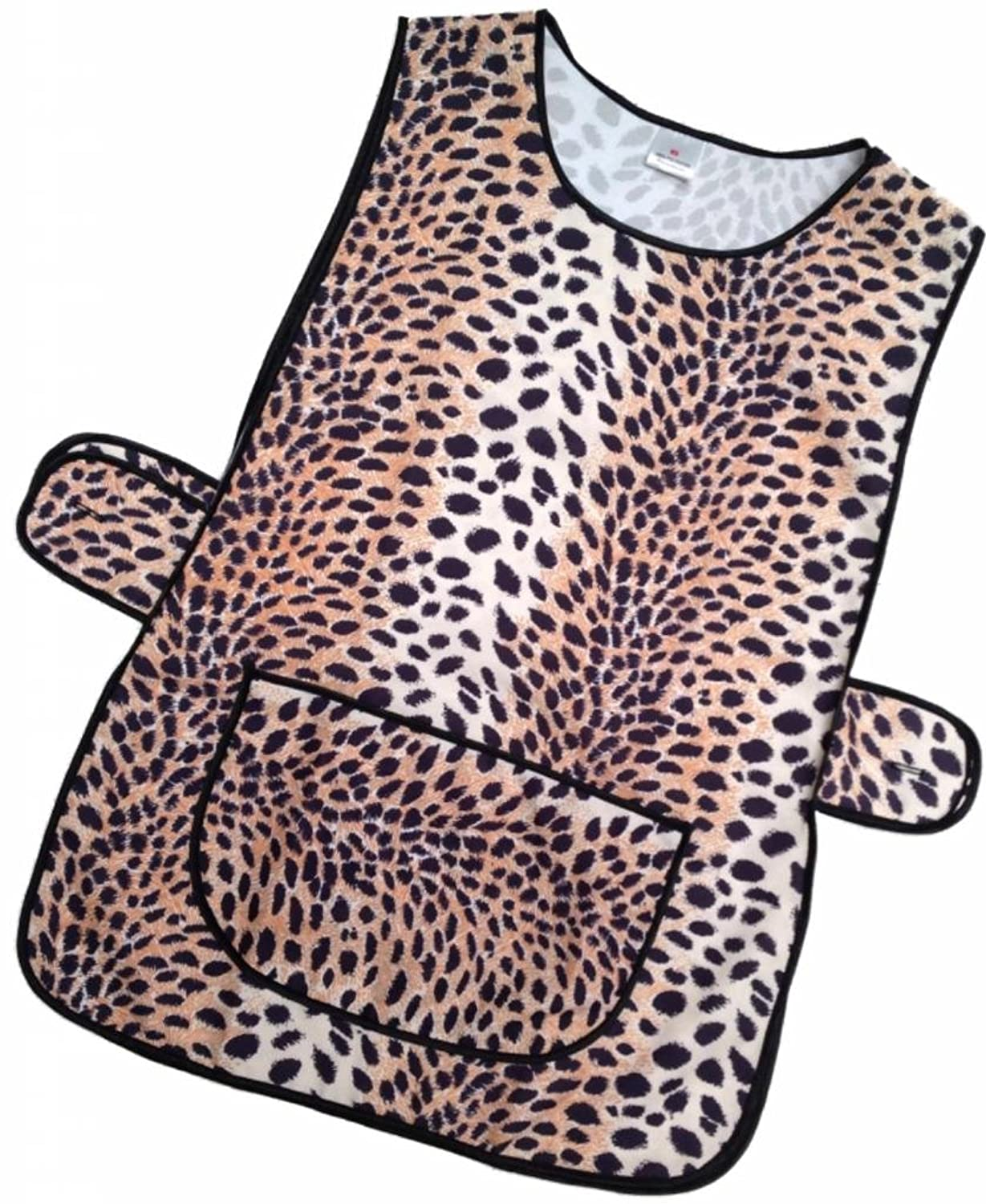 White tabard apron - Hduk Top Quality Ladies Animal Print Home Work Tabard Apron With Large Front Pocket And