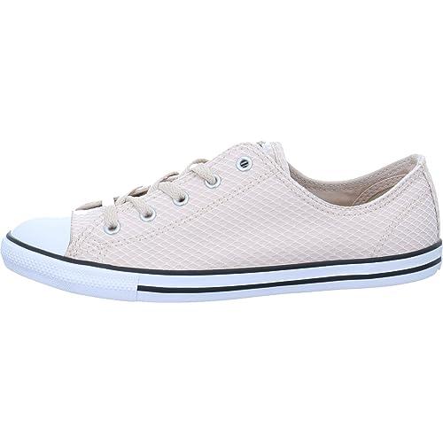 Converse Chuck Taylor CTAS Dainty Ox Textile, Zapatillas de Deporte para Mujer: Amazon.es: Zapatos y complementos