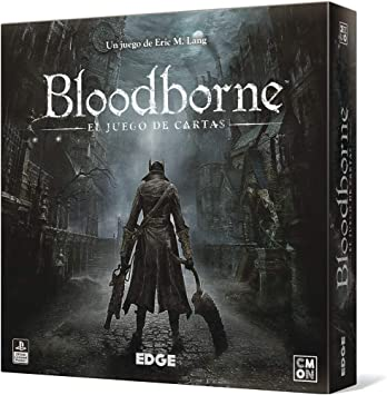 Edge Entertainment- Bloodborne: El Juego de Cartas - Español, Color (EECMBB01): Amazon.es: Juguetes y juegos