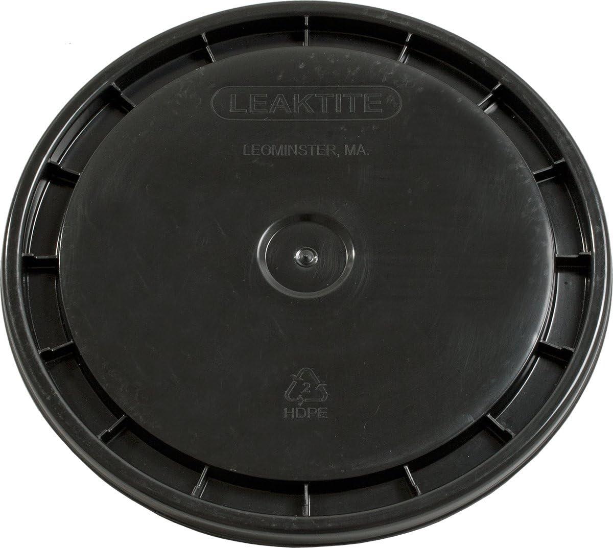 Hydrofarm HG5GLID Plastic lid, 5 Gallon, Black