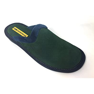 a74f235b633 Nordika 234 Natala Women s Mule Slip On Suede Slipper  Amazon.co.uk  Shoes    Bags