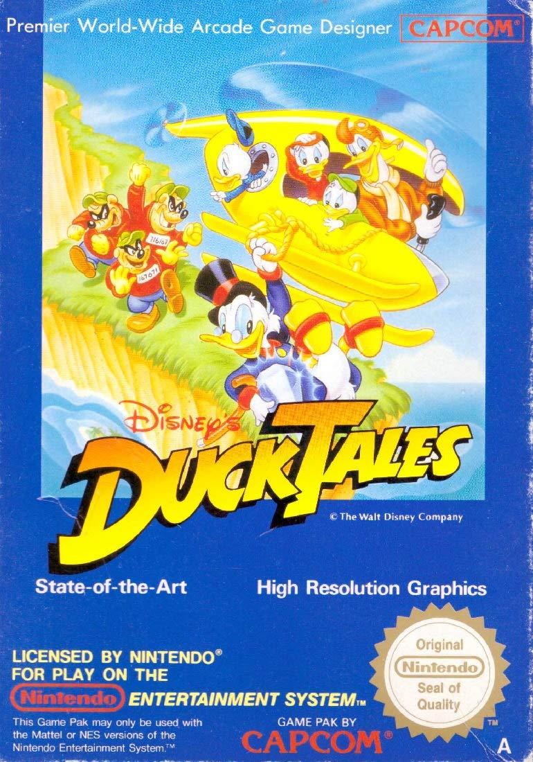 Amazon.com: Duck Tales: nintendo entertainment system: Video ...
