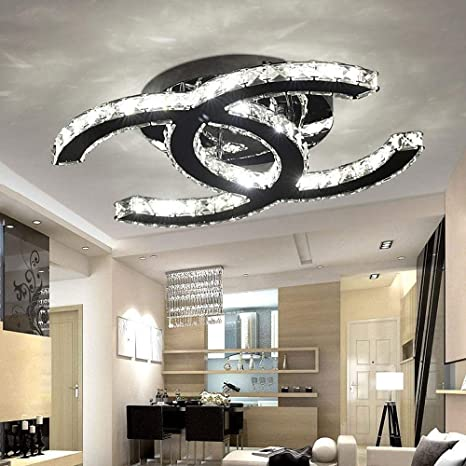 28W LED Luz De Techo Moderno Simple Salón Comedor Dormitorio ...
