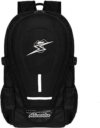 Advocator Waterproof Motorcycle Backpack Men Bike Motor Bag with Rain Cover (1+1)