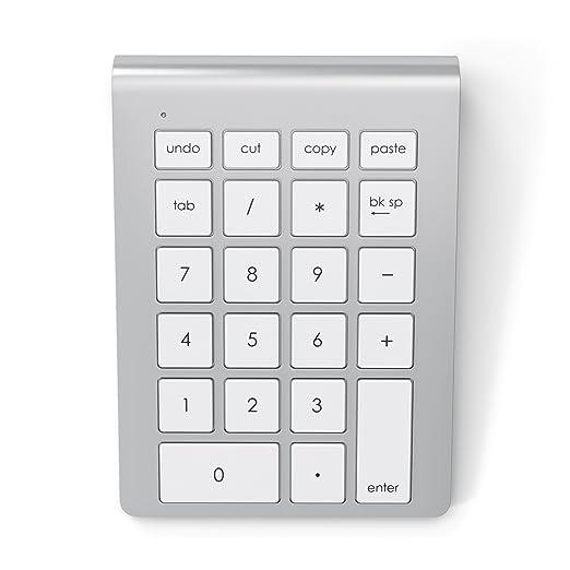 8 opinioni per Satechi Tastierino Numerico Bluetooth Wireless in Alluminio per iMac Macbook