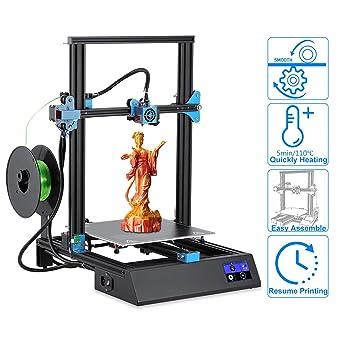Nesaila M18 Pro - Kit de impresora 3D (aluminio, 300 x 300 x 400 ...