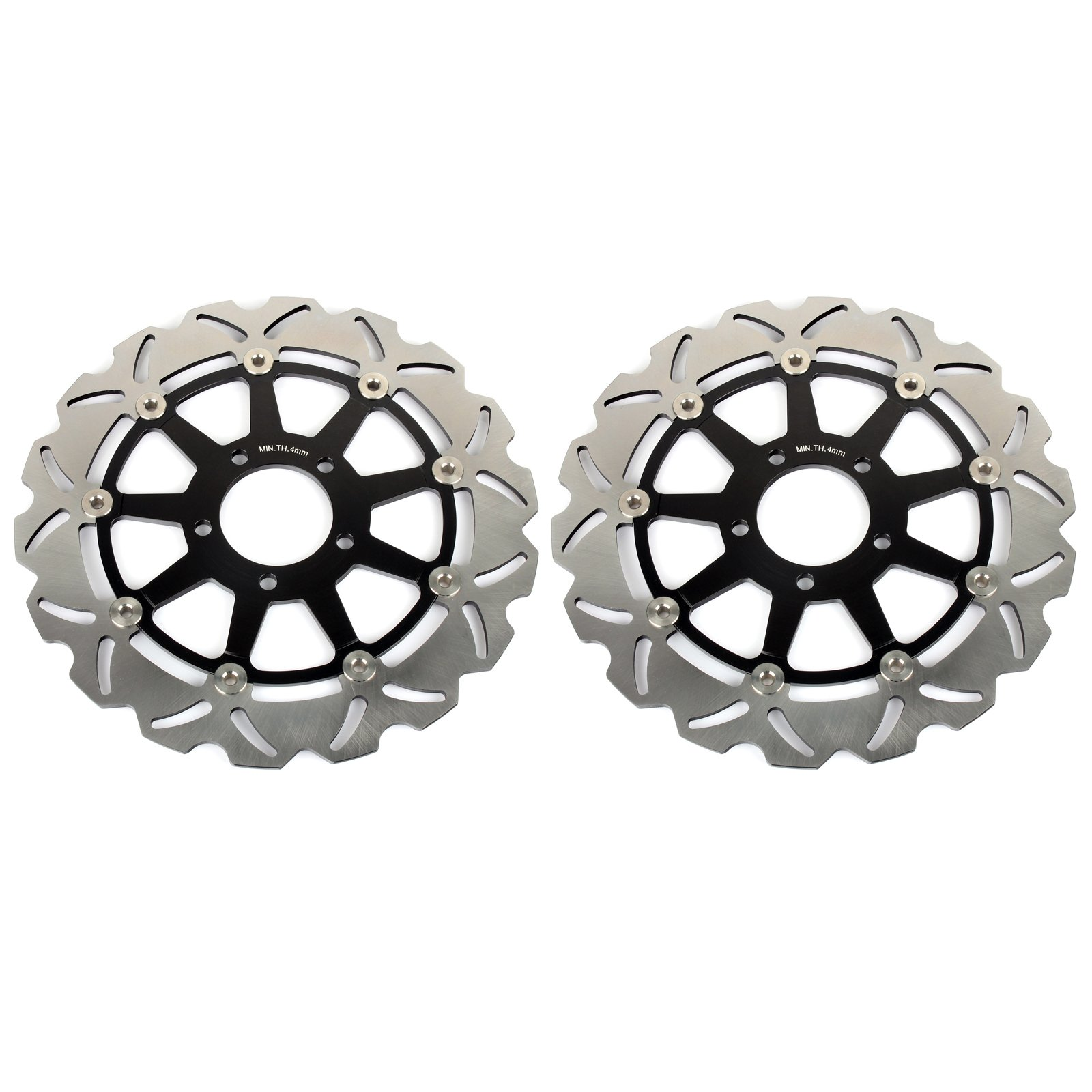 GSXR Front Brake Discs Rotors for Suzuki GSXR600 GSXR750 1997-2003 GSXR1000 2001 2002 Hayabusa GSX1300R 1999-2007 TL1000R TL1000S 98-01 by TARAZON (Image #1)
