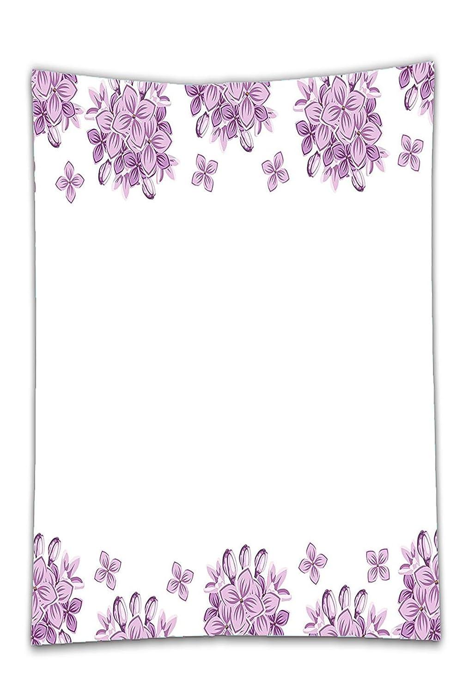 interestlee satinado (mantel? Flores Jardinería tema ilustración ...
