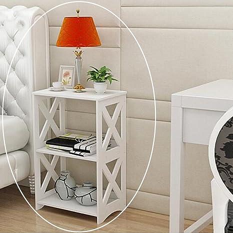 Riipoo Book Shelf PVC Floor Standing Bookshelf 2 Tier Bookcase Simple