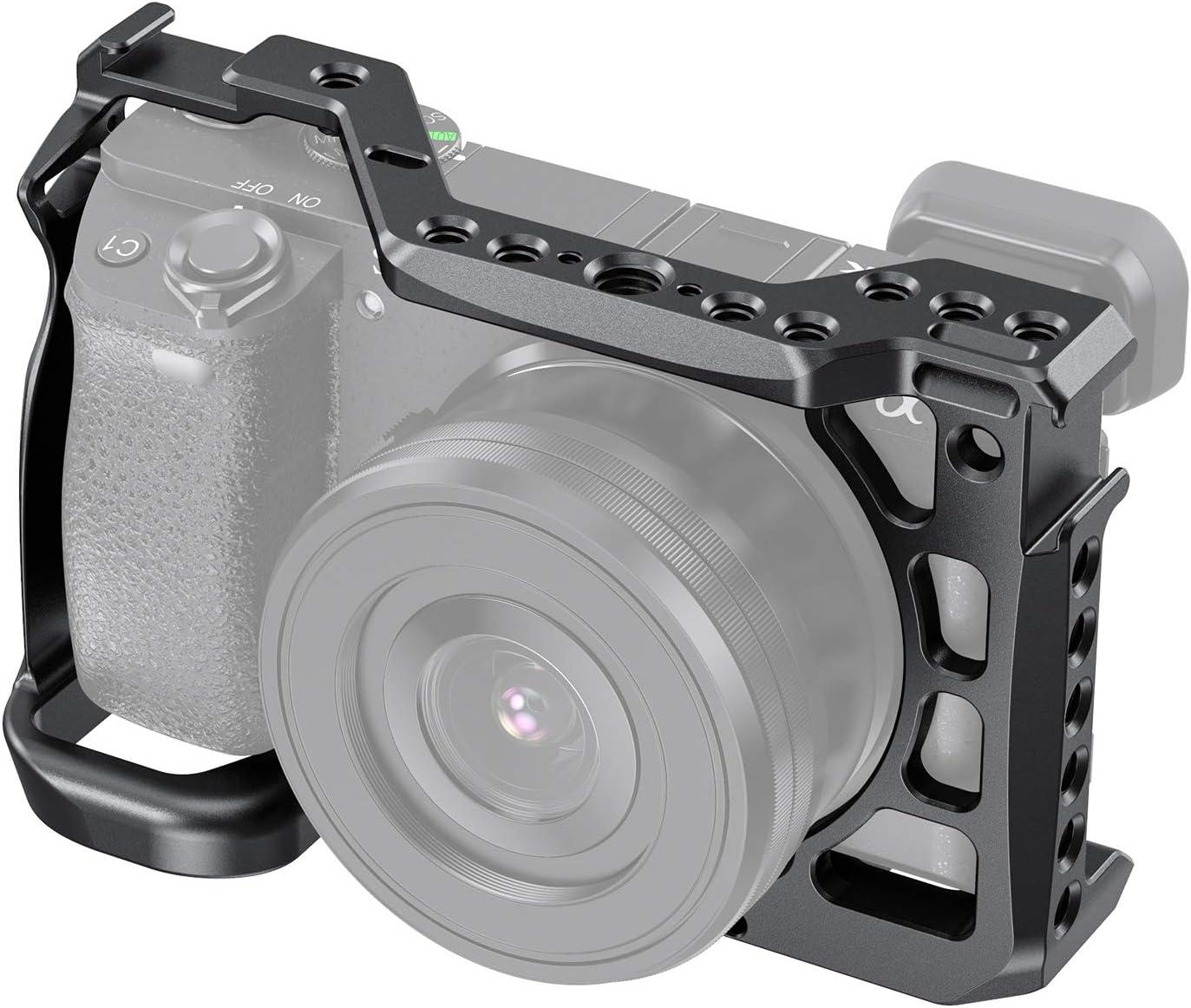 SMALLRIG CCS2493 - Jaula para cámara Sony Alpha A6600/ILCE 6600 ...