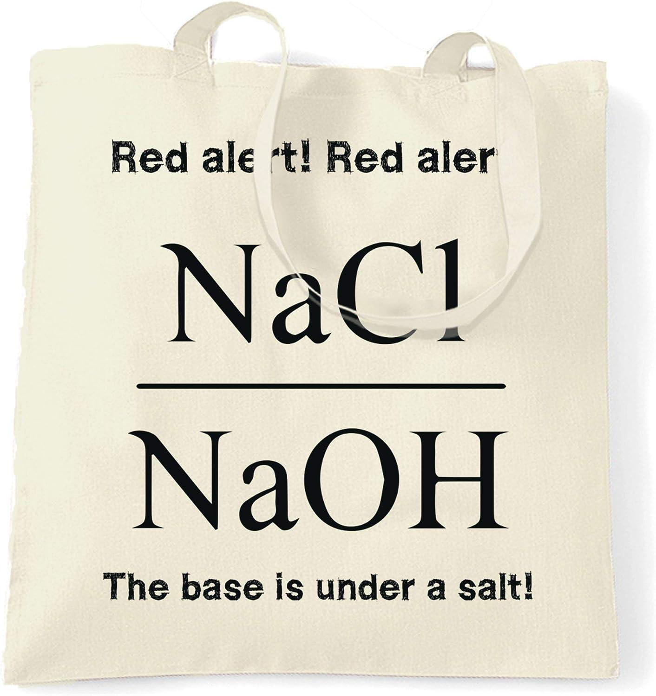 Chemistry Tote Bag This Base Is Under A Salt Assault