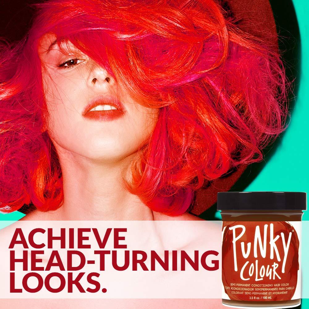 Red hair ebony