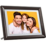Dragon Touch Digital Picture Frame WiFi 10 inch IPS Touch Screen HD Display, 16GB Storage, Auto-Rotate, Share Photos via App,