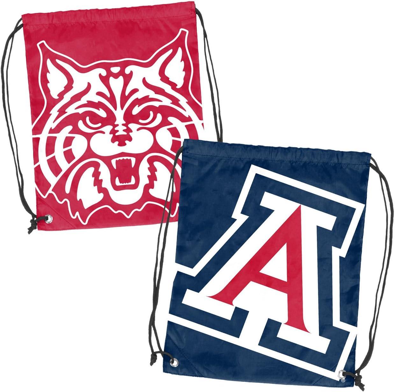 Logo Arizona Wildcats Double Header String Pack Navy,