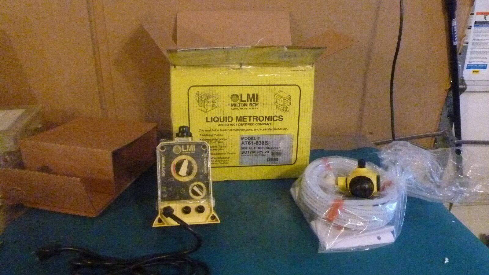 labtechsales Milton Roy LMI Metering Pump A761-838SI