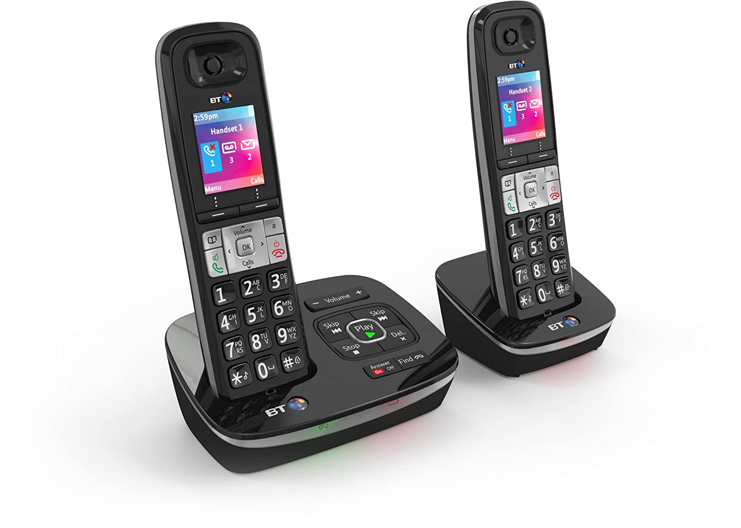 Bt8500 Enhanced Call Blocker Cordless Home Phone Twin Amazonco Maybe Thats Not A Bt Telephone Socket Wiring Electronics
