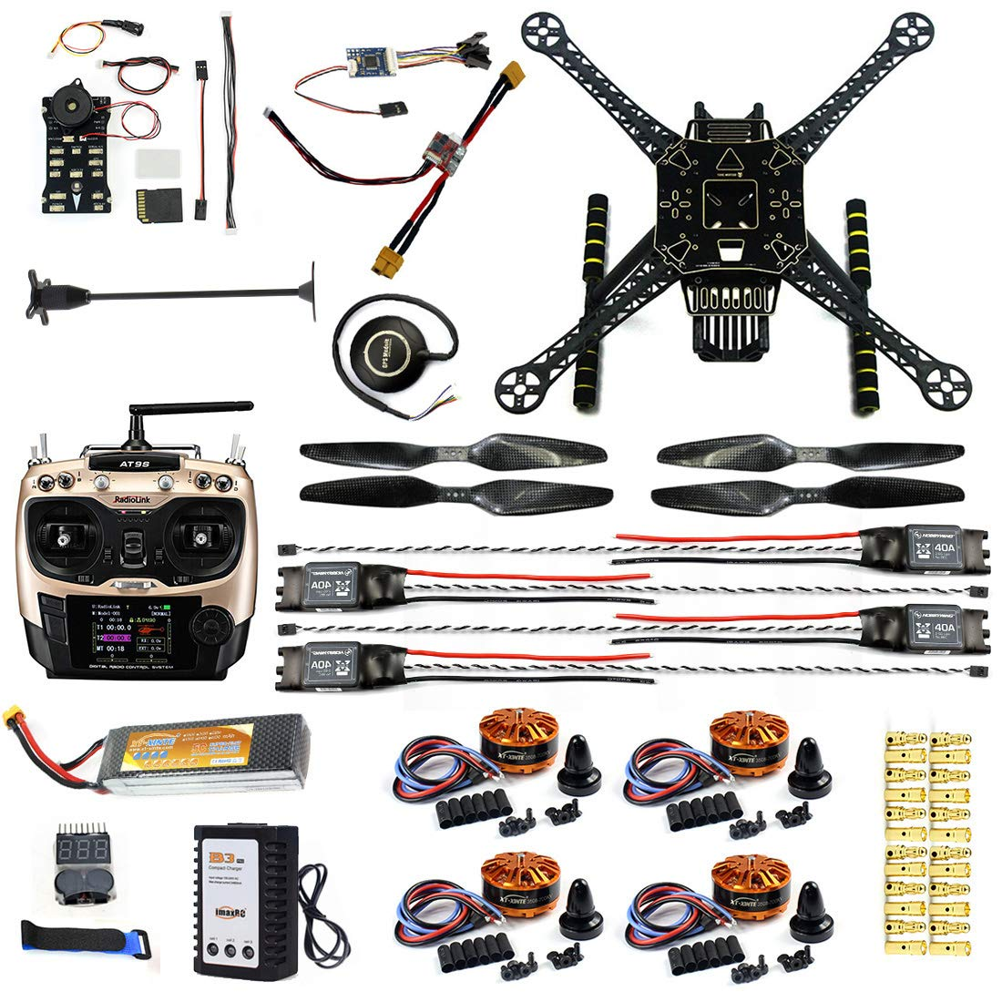 CS PRIORITY DIY Drone S600 4-Axis Rack Quadcopter Frame Kit