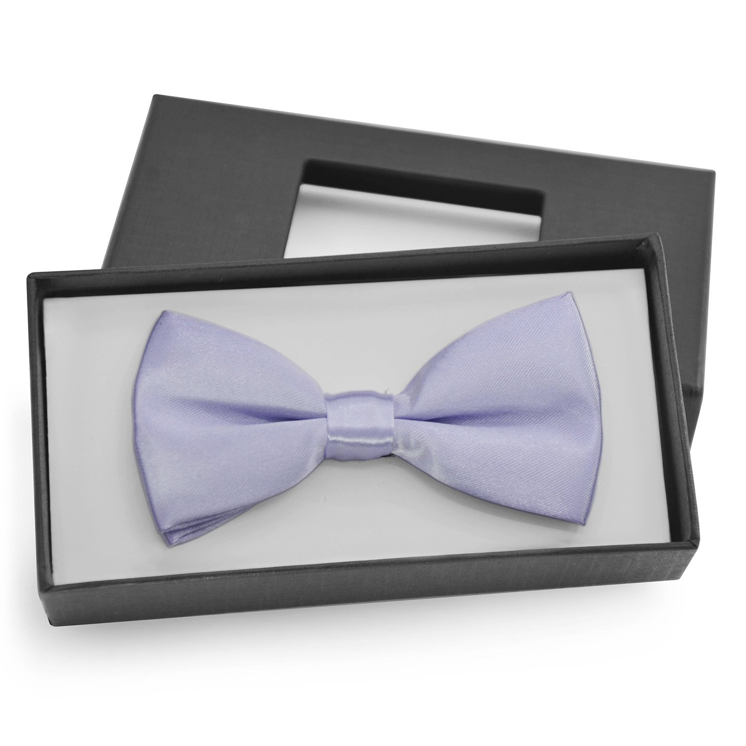Brooben Boys Kids Bowtie Pre tied Banded Satin Adjustable Bow Tie BT1 Dark Navy BT1-DarkNavy