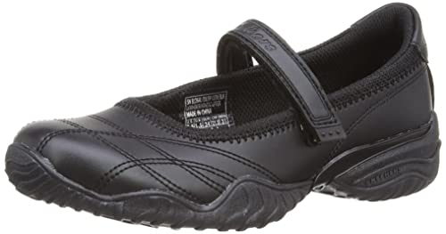skechers girls black shoes