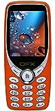 QFX S24 Dual sim Keypad Mobile Phone(Orange)
