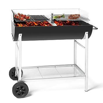 barbecue 2 compartiment