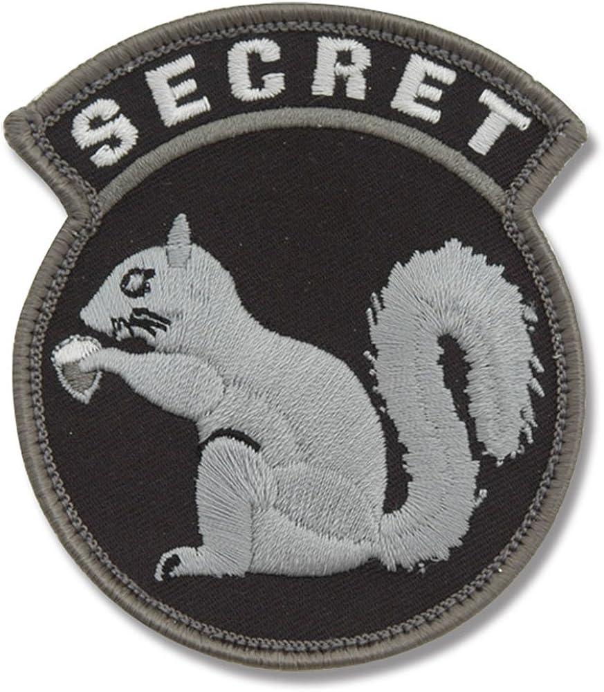 MilSpec Monkey Secret Squirrel Morale Patch (BLACK), Medium