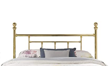 best service 94b1d 1658a Hillsdale Furniture 1036HFR Hillsdale Chelsea Bed Frame Full Headboard  Classic Brass