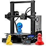 SainSmart X Creality Ender-3 - Impresora 3D, reanuda la impresión de la ranura en V Prusa i3, volumen incorporado 22 x…