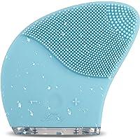 HAIRBY Gesichtsreinigungsbürste Silikon Elektrisch Gesichtsbürste Gesichtsmassagegerät Tragbar Ultraschall Vibration Hautreinig Wasserdicht Alle Hauttype Tiefreinigung mit USB Wiederaufladbar