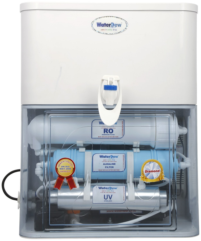 WaterDew RO + UV + Alkaline 15-Litre Water Purifier: Amazon.in: Home ...