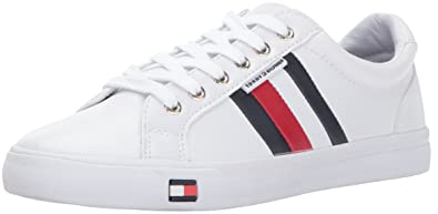 Amazon tommy hilfiger womens lightz sneaker fashion sneakers tommy hilfiger womens lightz sneaker white 8 medium us publicscrutiny Choice Image