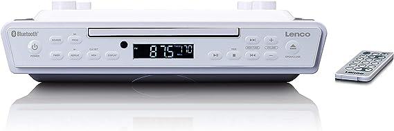 Lenco Kcr 150 Cd Unterbau Ukw Küchenradio Bluetooth Senderspeicher 2 X 3 Watt Rms Unterbau Montage Kit Aux In Eingang Timer Funktion Weiß Heimkino Tv Video