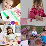 23 PCS Foam Sponge Brush Tools Fun Gifts For Kids
