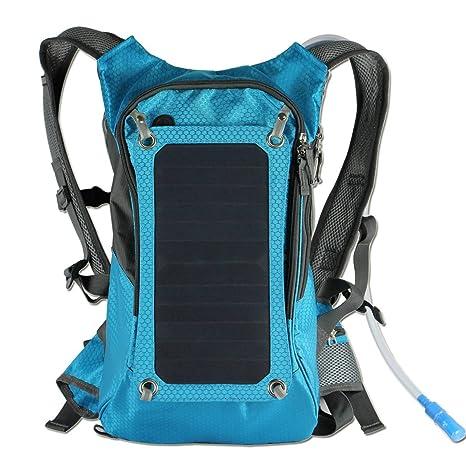 outerdo Solar Mochila Cargador Solar funda con 6.5 W solar panel ...