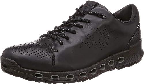 ecco mens black shoes
