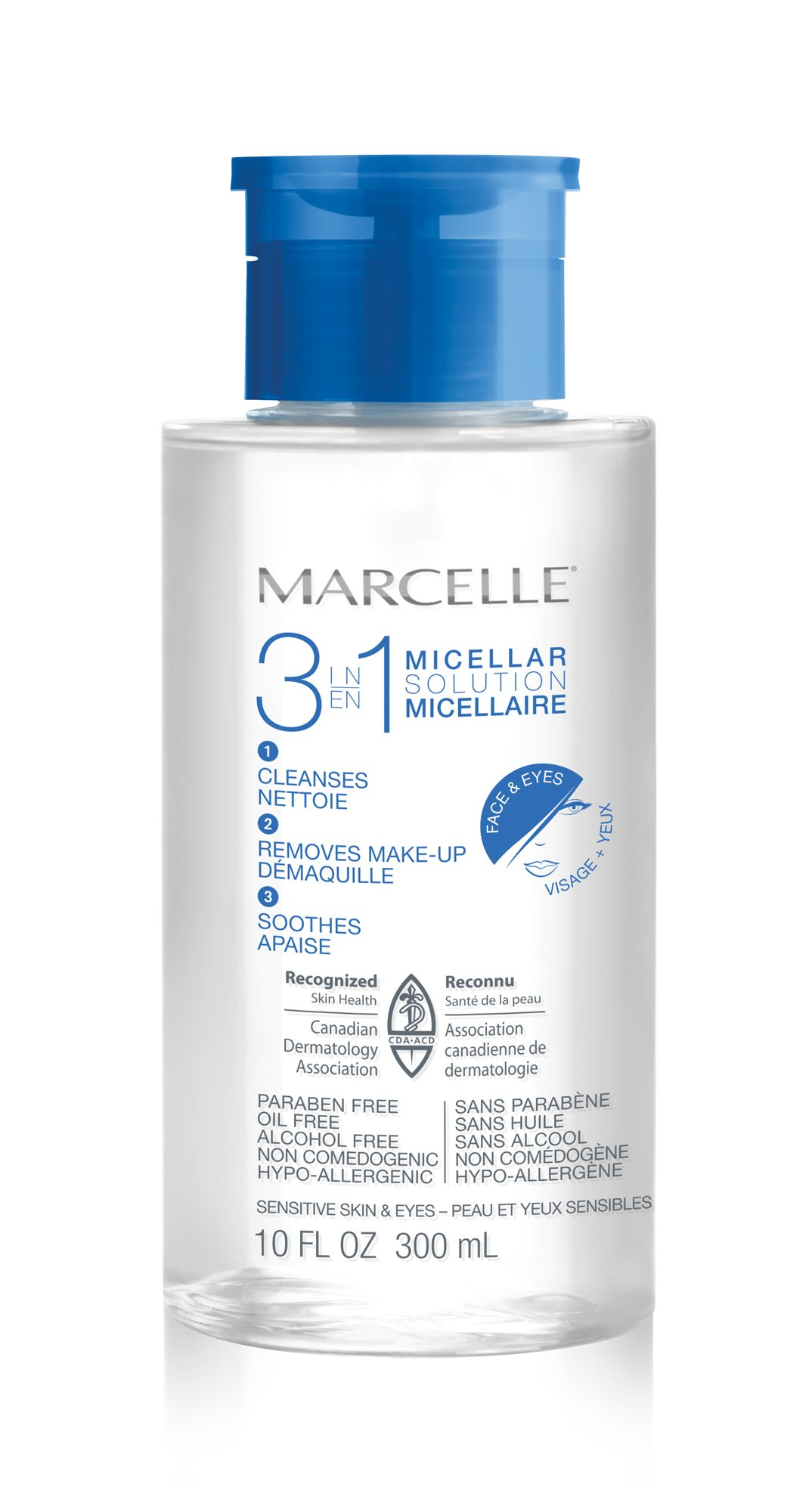 Marcelle 3-in-1 Micellar Solution, 10 fl oz product image