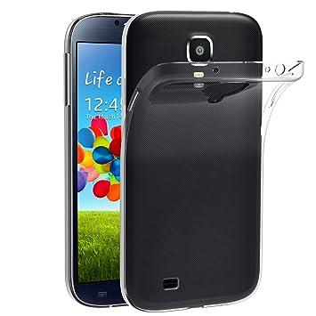iVoler Funda Carcasa Gel Transparente Compatible con Samsung Galaxy S4, Ultra Fina 0,33mm, Silicona TPU de Alta Resistencia y Flexibilidad
