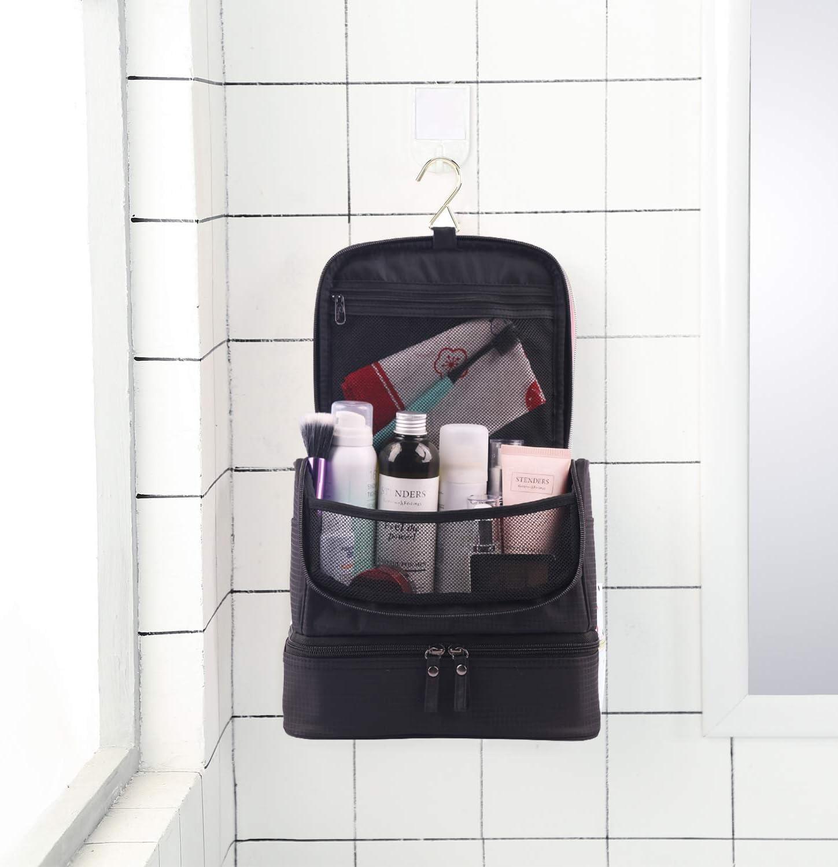Tuscall Trousse de Toilette de Voyage /à Suspendre Sac de Toilette pour Homme /& Femme Trousse de Voyage Imperm/éable Style - 1