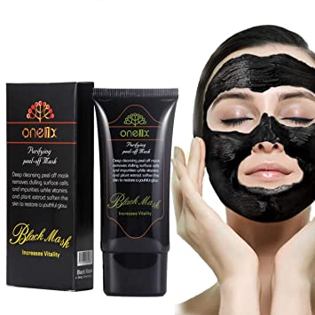 Skin Care Disaar High Quality Pimples Blackhead Removal Peel Mask Deep Cleaning Face Mask Womam Man Black Mask Pro Smooth The Skin Care Face