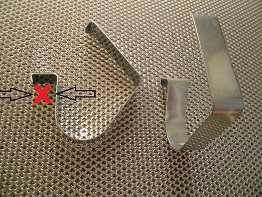8 stück qualität sockelfeder für küchensockel ironico halter ... - Sockelverbinder Küche