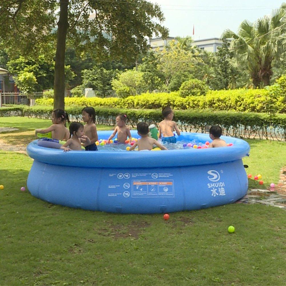 Super Platte bilden einen Pool/Kinder aufblasbare Familienpool/Dicke Kinder Planschbecken-D