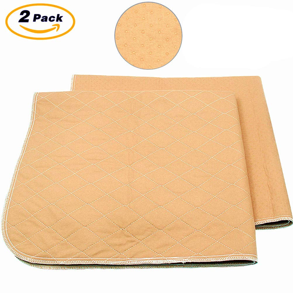 Mihachi Pet Pee Pad - 41''x 36'', Reusable Washable Dog Training Pee Pads, Anti-Slip Waterproof Bed Mat